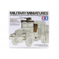 Tamiya 1/35 U.S. 2-1/2 Ton 6x6 Cargo Truck Accessory Parts Set Scaled Plastic Model Kit