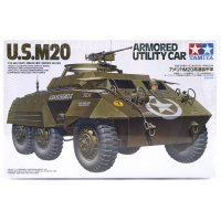 Tamiya 1/35 U.S. 6-wheeled Armored Car Scaled Plastic Model Kit