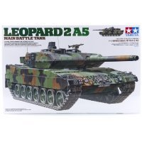 Tamiya 1/35 German Leopard 2 A5 Battle Tank Scaled Plastic Model Kit