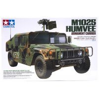 Tamiya 1/35 U.S. M1025 Humvee Armament Carrier Scaled Plastic Model Kit