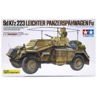 Tamiya 1/35 German Leichter Panzerspahwagen (Fu) (Sd.Kfz. 223) Scaled Plastic Model Kit