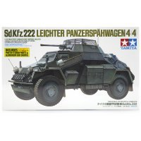 Tamiya 1/35 German Leichter Panzerspahwagen (4X4) (Sd.Kfz. 222) Scaled Plastic Model Kit