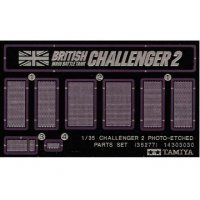 Tamiya 1/35 Challenger 2 Photo Etched Parts Set
