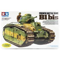 Tamiya 1/35 French B1 Bis Tank Scaled Plastic Model Kit