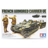 Tamiya 1/35 French Armored Carrier UE Scaled Plastic Model Kit