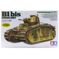 Tamiya 1/35 German B1 bis Panzerkampfwagen. B2 740 (f) Tank Scaled Plastic Model Kit