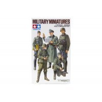 Tamiya 1/35 German Field Commander Set Scaled Plastic Model Kit