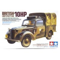 Tamiya 1/35 British 10HP Light Utility Car Scaled Plastic Model Kit