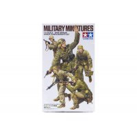 Tamiya 1/35 German WWII Africa Corps Infantry Set Scaled Plastic Model Kit
