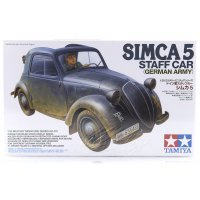 Tamiya 1/35 German Simca 5 Army Staff Car Scaled Plastic Model Kit