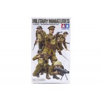 Tamiya 1/35 British WW1 Infantry Set Scaled Plastic Model Kit
