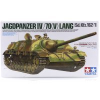 Tamiya 1/35 German Jagdpanzer IV/70(V)Lang (Sd.Kfz.162/1) Tank Scaled Plastic Model Kit