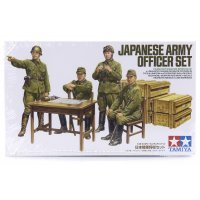 Tamiya 1/35 Japanese Army Officer Set Scaled Plastic Model Kit