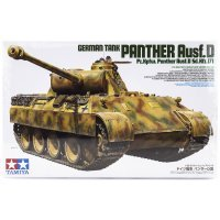Tamiya 1/35 German Panther Ausf.D (Sd.Kfz.171) Tank Scaled Plastic Model Kit