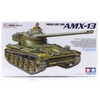 Tamiya 1/35 French AMX-13 Light Tank Scaled Plastic Model Kit