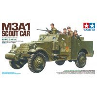 Tamiya 1/35 M3A1 Scout Car Scaled Plastic Model Kit