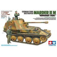 Tamiya 1/35 German Marder III M Normandy Front Tank Destroyer Scaled Plastic Model Kit