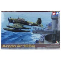 Tamiya 1/48 Arado Ar 196A Recon Aircraft Scaled Plastic Model Kit