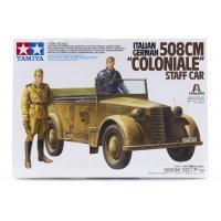 Tamiya 1/35 Italian/German 508 CM Coloniale Staff Car Scaled Plastic Model Kit