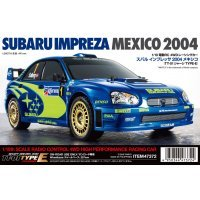 Tamiya 1/10 TT-01E 2004 Subaru Impreza Meixco Limited Edition Electric On Road RC Car Kit
