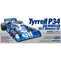 Tamiya 1/10 F103 Six Wheel Tyrrell P34 1977 Monaco GP F1 Electric RC Drift Car Kit
