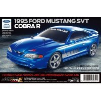 Tamiya 1/10 TT-01E 1995 SVT Ford Mustang Cobra R Electric On Road RC Car Kit