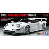 Tamiya 1/10 TA-03R-S 1996 Porsche 911 GT1 Street Electric On Road RC Car Kit