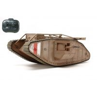 Tamiya 1/35 British MK.IV Male Scaled RC Tank Kit w/ Controller