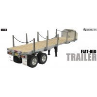 Tamiya 1/14 Flatbed Semi-Trailer