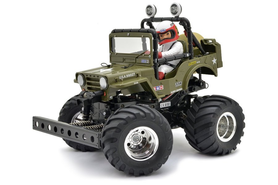 Tamiya 1/10 Wild Willy 2WD Electric Off Road RC Monster Truck Kit