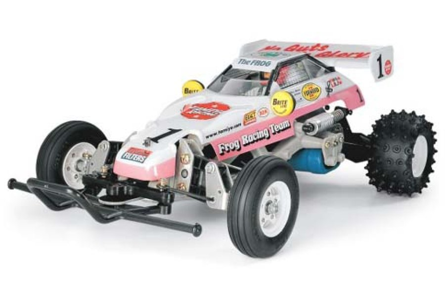 Tamiya 1/10 Frog 2WD Electric Off Road RC Buggy Kit
