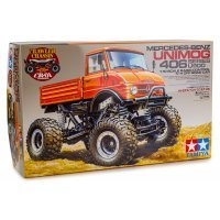 Tamiya 1/10 CR-01 Mercedes Benz Unimog Electric Off Road RC Rock Crawler Kit