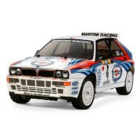 Tamiya 1/10 TT-02 Lancia Delta Integrale Electric On Road RC Car Kit