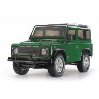 Tamiya 1/10 CC-01 Land Rover Defender 90 Electric Off Road RC Rock Crawler Kit
