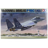 Tamiya 1/32 McDonnell Douglas F-15C Eagle Phantom II Jet Scaled Plastic Model Kit