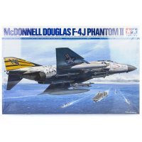Tamiya 1/32 McDonnell Douglas F-4J Phantom II Jet Scaled Plastic Model Kit