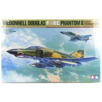 Tamiya 1/32 McDonnell Douglas F-4E Phantom II Jet Scaled Plastic Model Kit