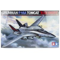 Tamiya 1/32 F-14A Tomcat Jet Scaled Plastic Model Kit