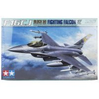 Tamiya 1/32 F-16CJ Fighting Falcon Block 50 Jet Scaled Plastic Model Kit