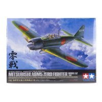 Tamiya 1/32 Mitsubishi Model 52 (Zeke) A6M5 Zero Fighter Scaled Plastic Model Kit