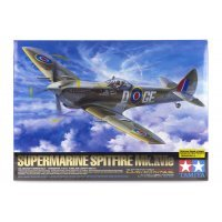 Tamiya 1/32 Supermarine Spitfire Mk.XVIe Fighter Scaled Plastic Model Kit