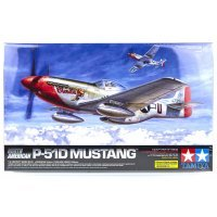Tamiya 1/32 Boeing North American P-51D Mustang Scaled Plastic Model Kit