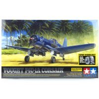 Tamiya 1/32 Vought F4U-1A Corsair Fighter Scaled Plastic Model Kit
