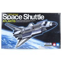 Tamiya 1/100 Space Shuttle Atlantis Scaled Plastic Model Kit