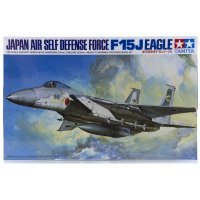 Tamiya 1/48 Japanese F-15J Eagle Jet Scaled Plastic Model Kit