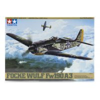 Tamiya 1/48 Focke-Wulf Fw190 A-3 Fighter Scaled Plastic Model Kit