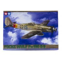 Tamiya 1/48 Focke-Wulf Fw190 D-9 Fighter Scaled Plastic Model Kit