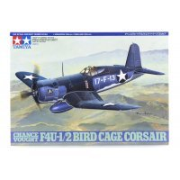 Tamiya 1/48 Chance Vought F4U-1/2 Bird Cage Corsair Fighter Scaled Plastic Model Kit