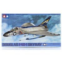 Tamiya 1/48 Douglas F4D-1 Skyray Jet Scaled Plastic Model Kit