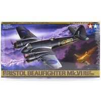 Tamiya 1/48 Bristol Beaufighter Mk.VI Scaled Plastic Model Kit